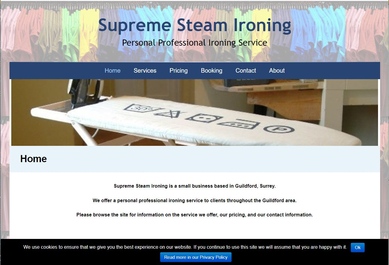 Supreme Steam Ironing