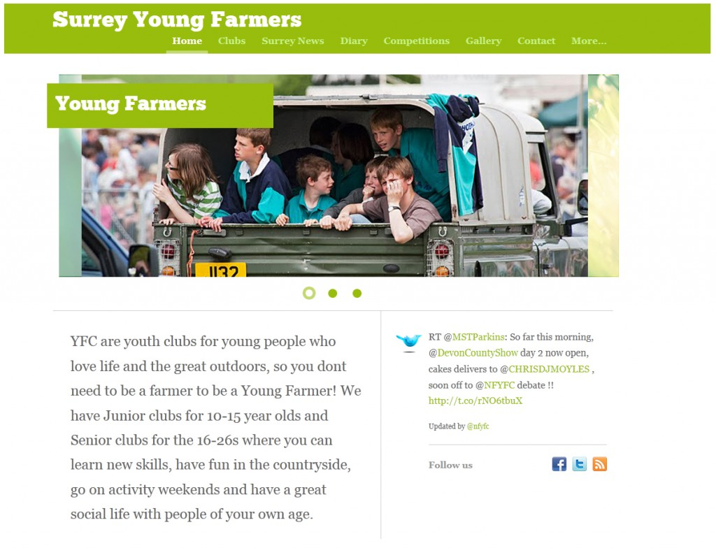 Surrey Young Farmers