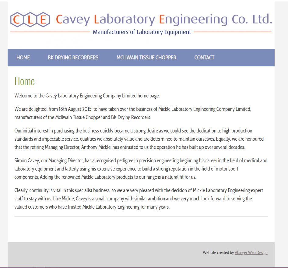 Cavey Laboratory Engineering
